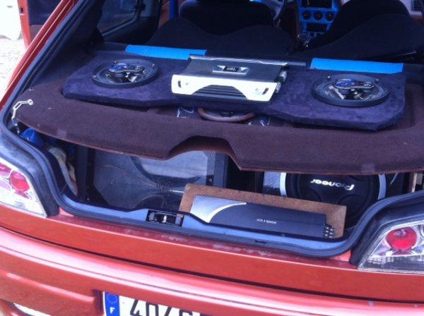 Sono coffre la pr paration de la 306 show car kustom garage for Garage opel orthez