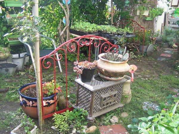 Nouvelles idees recup blog de jardinrecup for Decorer mon jardin